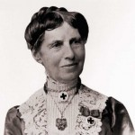 Clara Barton (1821 - 1912). Barton founded the Red Cross and worked as an internationally-recognize nurse, teacher and humanitarian. Credit: Clara Barton National Historic Site